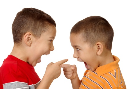 2 Boys About To Fighting